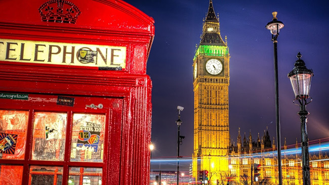 Đồng hồ Big Ben. Ảnh: The beauty of Travel.